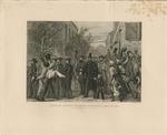 Abraham Lincoln Entering Richmond, April 3d. 1865