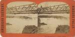 New Suspension Bridge and Falls of Niagara