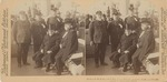President McKinley and Maj.- Gens. Wheeler, Lawton, Shafter and Keiter