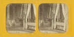Stereoscopic Image of a Bedchamber