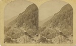 Mt. Willard and Train, P. & O. R. R., Crawford Notch, White Mts.