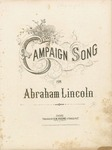 Campaign Song for Abraham Lincoln