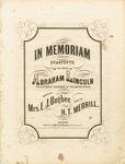 In Memoriam Quartette, On the Death of Abraham Lincoln