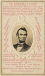 Dr. Bicknell's Syrup Abraham Lincoln Advertisement