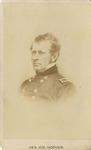 Vignette Portrait of General Joseph Hooker