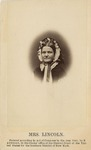 Vignette Bust Portrait of Mary Todd Lincoln