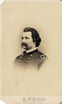 Vignette Portrait of General John A. Logan