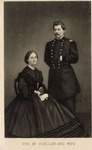 Engraved Portrait of George and Nelly McClellan