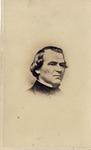 Vignette Portrait of Andrew Johnson