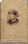 Vignette Portrait of Edward Spangler