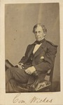 Seated Portrait of Commodore Charles Wilkes