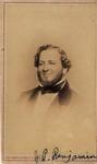 Vignette Portrait of J. P. Benjamin