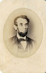 Wenderoth & Taylor White House Photograph of Abraham Lincoln