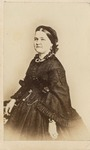 Portrait of Mary Todd Lincoln in Mourning Attire