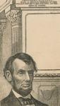 Lithograph Portrait of Abraham Lincoln