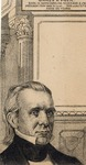Lithograph Portrait of James K. Polk