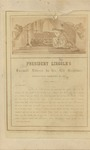 President Lincoln's Farewell Address to His Old Neighbors