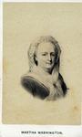 Vignette Portrait of Martha Washington