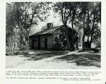 Photograph of the Thomas and Sarah Bush Lincoln Cabin