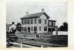 Reproduction of Photograph of Abraham Lincoln's Springfield Home