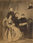 Photograph of Engraving of Abraham Lincoln and Family