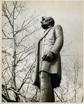Photograph of Standing Abraham Lincoln Statue