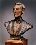 Photograph of Prairie Lawyer Bust Sculpture