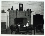 Photograph of Interior of the Robert Johnson Cabin