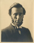 Bust-length Portrait of Judge Charles E. Bull Dressed as Abraham Lincoln