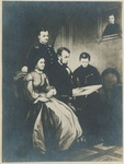 Photographic Reproduction of Print of Abraham Lincoln and Family