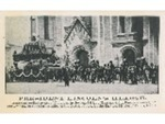 Reproduction Photograph of President Lincoln's Hearse