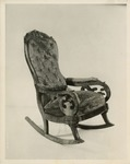 Photograph of Lincoln Assassination Chair