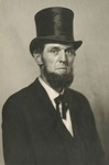 Portrait of Herman L. Brents Dressed as Abraham Lincoln