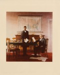 Photograph of N.C. Wyeth Painting of Lincoln and Johnson