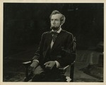 George R. Billings in Costume as Abraham Lincoln