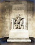 Photograph of Abraham Lincoln Statue at Lincoln Memorial