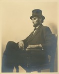 Portrait of Edward Carroll Dressed as Abraham Lincoln