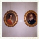 Photograph of Portraits of Gideon Welles and Mary Jane Hale Welles