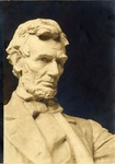 Head of Lincoln from the Lincoln Memorial Statue