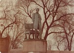 Photograph of Abraham Lincoln: The Man Statue