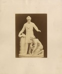 Mounted Photograph of the First Marble Version of Thomas Ball's Emancipation monument