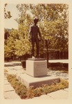 Photograph of Young Abe Lincoln Statue