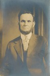 Portrait of W. J. Thornton, Abraham Lincoln Look-alike
