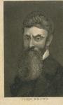 Engraved Portrait of John Brown