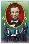 Abraham Lincoln Heroes of History Cigarette Card