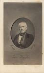Oval Portrait of Sam Houston