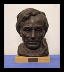 Bronze Head of Abraham Lincoln