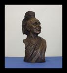 Black Hawk Sculpted Bust