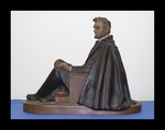 A. Lincoln 1809-1865 Seated Statuette