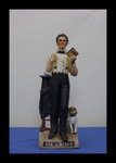McCormick Abe Lincoln Bourbon Whiskey Decanter